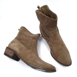 American Eagle Laser Cut Suede Boots
